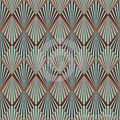 Violeta Janes's Art Deco Textile Design (Dalmations) Using the bold lines and patterns of the prevailing Art Deco style of the period. Description from patterngos.com.