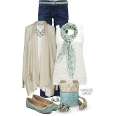 """""""Mint Multi"""" by maggiebags on Polyvore"""
