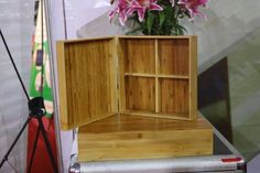 Bamboo box Vietnam - Round shape, great quality, various type. We can supply and making as custom demand. We have competive scoure bamboo and worker Bamboo Box, Farmer, Polish, Shelves, Tea, Phone, How To Make, Food, Home Decor