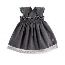 Baby Flannel Dress from Lace & Ribbons