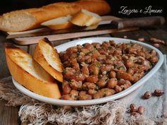 I fagioli alla veneziana sono un piatto rustico che viene servito come antipasto oltre che come contorno. Davvero molto appetitosi.