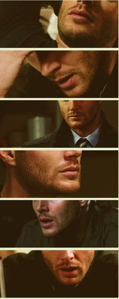 "The ""break up"" scruff #DeanWinchester"