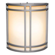 really like this one; only shown in satin 86$ 1-2 daysArtemis Satin Silver Energy Efficient Outdoor Wall Sconce | LampsPlus.com