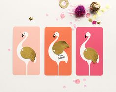 FLAMINGO COCKTAIL INVITATIONS