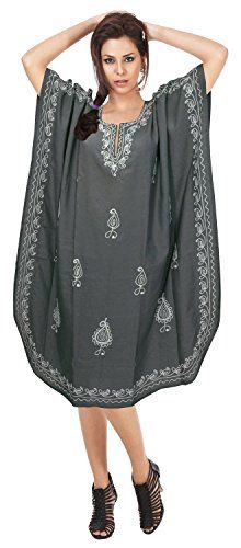 Introducing Womens Embroidered Rayon Beach Dress Maxi Swimwear Swimsuit Cover Up Caftan Valentines Day Gifts 2017. Get Your Ladies Products Here and follow us for more updates!