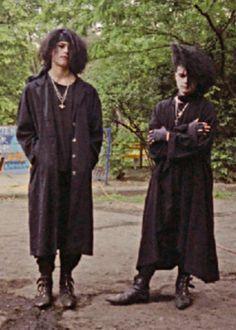 darksiders, fashion, goth, gothic, gothic subculture, old school, portrait, O.G., trad goth, Gruftis, Goth guys, Armin Kober, Philipp Hermisson, Original Gothic