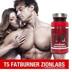 HOCHWIRKSAMER & hocheffektiver T5 Zion Labs FATBURNER (ECA Stack)! 30 mg Ephedrin / 250 mg Koffein / 150 mg Aspirin T5 Zion Labs in Aktion! 60 Kapseln T5 Fatburner Lab, Aspirin, Workout, Training, Fatty Acid Metabolism, Health, Work Out, Labs, Work Outs