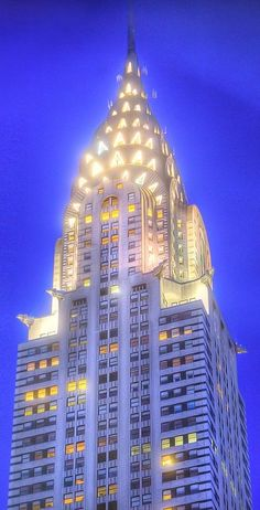 The Crysler Building - NYC