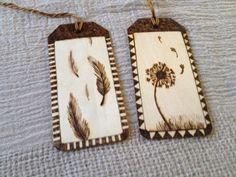 Primitive woodburned bookmarks #pyrography #theburningbirch