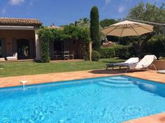 Villa for rent in Saint-Tropez (Sainte-Anne). Provencal villa for rent in Saint-Tropez. Situateda few minutes from the center of Saint-Tropez. Pearl Beach, Rural House, Front Yard Fence, Sitges, Saint Tropez, Pent House, Provence, Townhouse, Swimming Pools