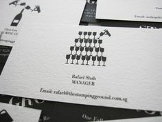 Great business card design. Diggin the simplicity of it.