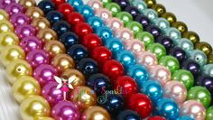 BULK DISCOUNT PEARLS, One Hundred (100) 22mm Pearl Beads, Round Imitation Pearls Girls Bubblegum Beads