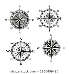 Similar Images, Stock Photos & Vectors of Vector antique compasses with ornate dials for use as design elements in vintage or retro nautical and marine concepts, black and white - 226258699 Mandala Compass Tattoo, Design Elements, Nautical, Vectors, Royalty Free Stock Photos, Symbols, Black And White, Retro, Antiques