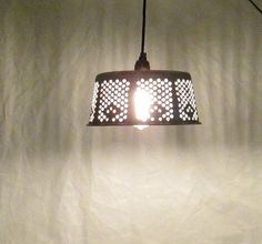 Rustic pendant light  modern lighting pattern design by UpReNew, $42.95