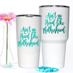 Our new Yeti Decal is for all you Beach Babes that have a Salty Soul. Yeti Stickers, Decals For Yeti Cups, Yeti Decals, Vinyl Decals, Diy Tumblers, Custom Cups, Glitter Cups, Personalized Cups, Monogram Decal