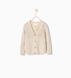 Image 2 of Open-work knit jacket from Zara