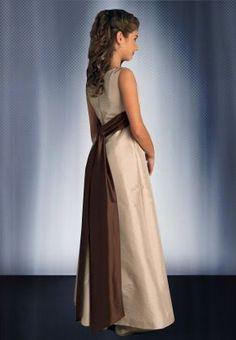 taffeta+junior+bridesmaid+dresses | ... Bridesmaid Dresses > Taffeta Scoop A-line Long Junior Bridesmaid Dress