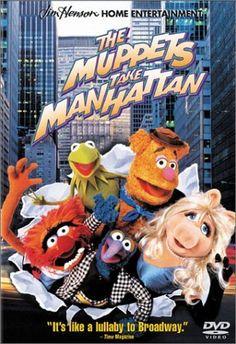 The Muppets Take Manhattan (1984). [G] 94 mins. Starring: Jim Henson, Frank Oz, Dave Goelz, Steve Whitmire, Richard Hunt, Jerry Nelson, Art Carney, Dabney Coleman, Gregory Hines, Linda Lavin, Joan Rivers, Elliott Gould, Liza Minnelli, Brooke Shields and Ed Koch