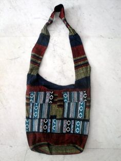 Cotton Canvas Boho Handcrafted Hippie Indian Sling Cross Body Long Shoulder Bag by Krishna Mart India, http://www.amazon.com/dp/B005M9Y1MM/ref=cm_sw_r_pi_dp_5DMiqb1V14XGJ