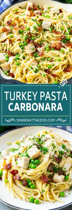 Cajun Delicacies Is A Lot More Than Just Yet Another Food Turkey Pasta Carbonara Turkey Pasta Leftover Turkey Recipe Crock Pot Recipes, Pasta Recipes, Chicken Recipes, Cooking Recipes, Healthy Recipes, Potato Recipes, Casserole Recipes, Soup Recipes, Vegetarian Recipes