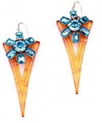 We love Lulu Frost's rad resin earrings, exclusive for Net-A-Porter!