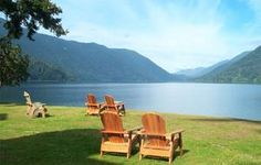 Lake Crescent Lodge, Olympic National Park, WA.  Wonderful restaurant, lake views, peace!