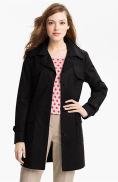 Kristen Blake Single Breasted Trench Coat available at Nordstrom