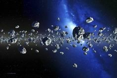 Asteroids Photographic Print: Kuiper Belt Objects by Detlev Van Ravenswaay : - Galaxy Solar System, Our Solar System, Cosmos, Asteroid Belt, Environment Concept Art, Outer Space, Find Art, Framed Artwork, At Least