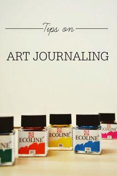 Gem & Em: Tips on art journaling