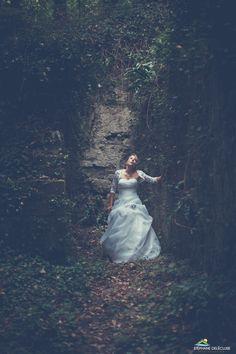 La mariée dans les bois.