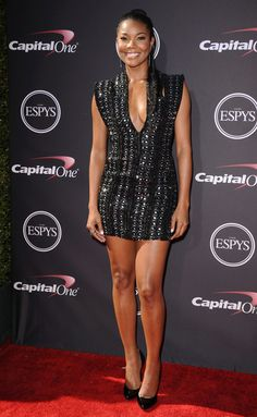 Gabrielle Union arriving at the 2013 ESPY Awards at the Nokia Theatre L.A. Live in Los Angeles - July 17, 2013 - Photo: Runway Manhattan/Bauer-Griffin