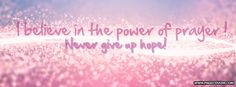 Facebook Cover Photos About Hope | The Hope Cover Facebook Cover - PageCovers.com