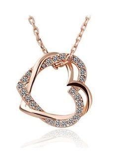 Kaufe meinen Artikel bei #Kleiderkreisel http://www.kleiderkreisel.de/accessoires/ketten-and-anhanger/149415578-kette-herz-halskette-gold