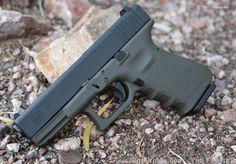 X-Werks Glock 19 Gen 3 9mm Armor Black Magpul OD : Semi Auto Pistols at…
