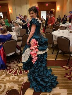 Costume college 2019 Victorian Gown, Bustle Dress, Cute Dresses, Steampunk, College, Concept, Gowns, Costumes, Inspired