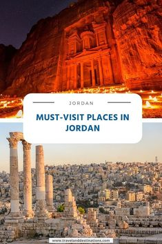 Read about some of the must visit places in Jordan, including the best cities, historic and rural attractions. Dubai Vacation, Dubai Travel, Dubai Things To Do, Dubai Beach, Dubai Hotel, Seven Wonders, Archaeological Site, Best Cities, Historical Sites