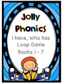 Inspired by Jolly Phonics, this is a 13 page sample of the full 58 page document has a loop game for each of the 7 Jolly Phonics books aswell as a game for all of the JP sounds.All Jolly Phonic sounds are represented through this game. This is a great way to engage the entire class and practice their Jolly Phonics actions as well as sounds.