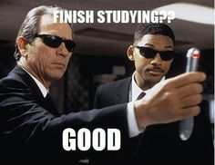 Everytime I try to study hard.... and then ZAP! It's gone......