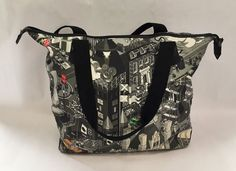 Limited Edition Paul Smith x E-boy - Large Graphic Holdall Bag