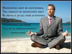 Meditation/work...