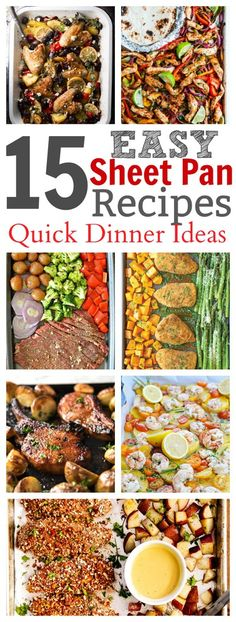 Easy Sheet Pan Recipes for Supper – these recipes will have dinner on the table in no time flat! Everything from chicken to steak turned into a sheet pan recipe! Source by BeckyMans Easy Family Dinners, Easy Meals, Healthy Dinners, Recipe Sheets, Sheet Pan Suppers, Quick Dinner Recipes, Weeknight Recipes, Supper Recipes, Side Recipes