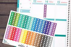 Erin Condren Planner Stickers Agenda Stickers por AddieAndAllie