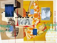 Bigger Rack David Salle Bigger Rack  1998  Acrylic and oil on canvas and linen  244 x 335 cm