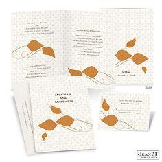Leafy Style Wedding Invitation