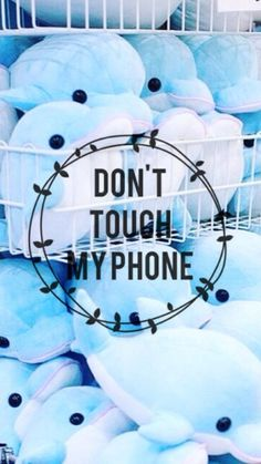 Cute Dont Touch My Phone Wallpaper Wallpaper Tumblr Lockscreen, Phone Lockscreen, Cute Wallpaper For Phone, Kawaii Wallpaper, Funny Wallpapers, Wallpaper Quotes, Iphone Wallpaper, Wallpaper Ideas, Cute Backgrounds