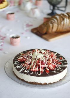 Cheescake Recipe, Cheesecake, Camembert Cheese, Panna Cotta, Food And Drink, Dairy, Cooking Recipes, Snacks, Baking