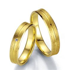 Ślubowisko.pl - obrączki ślubne Breuning 14 Carat, Wedding Rings, Engagement Rings, Black And White, Bracelets, Gold, Jewelry, Fashion, Wedding Ring