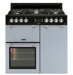 Leisure Cookmaster Dual Fuel range cooker blue CK90F232B 90cm