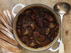Türkischer Eintopf mit Lamm, Feigen und Zwiebeln Kiss The Cook, Oriental Food, Crockpot, Food And Drink, Beef, Dishes, Vegetables, Cooking, Recipes