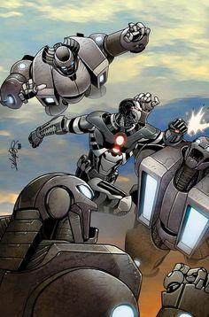War Machine (Iron Man 2.0 Armor) by Salvador Larroca